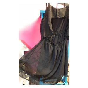 Backless Black Derek Heart w/ adjustable straps